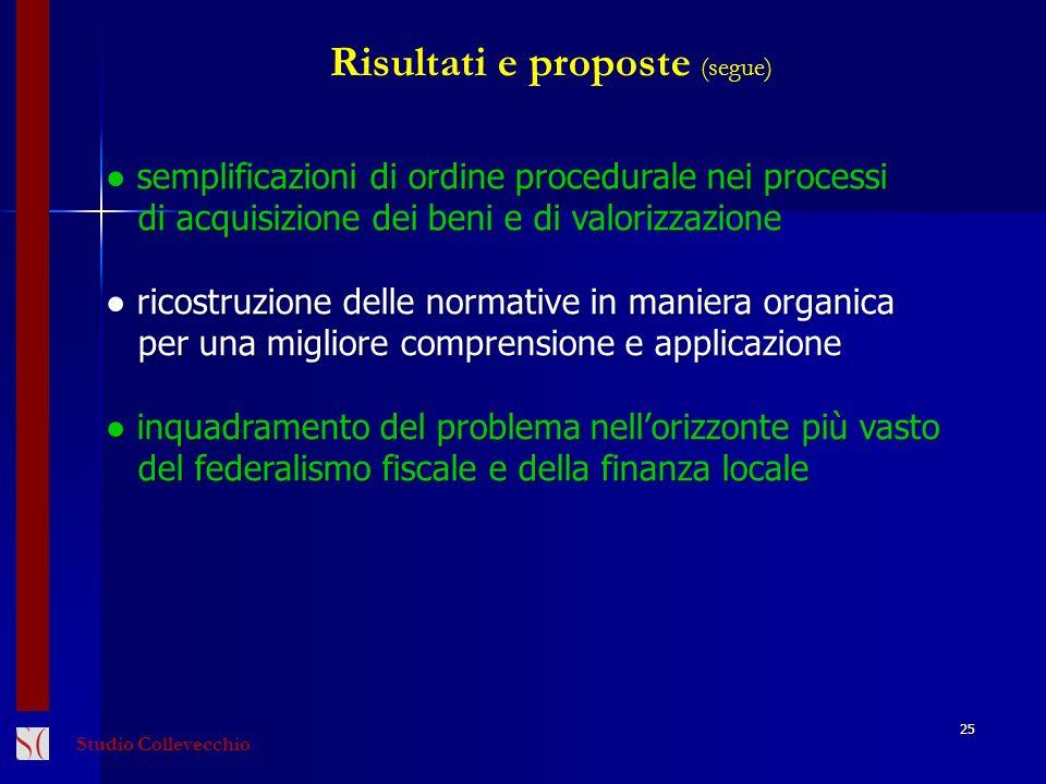 25 Risultati e proposte (segue) semplificazioni di ordine procedurale nei processi semplificazioni di ordine procedurale nei processi di acquisizione