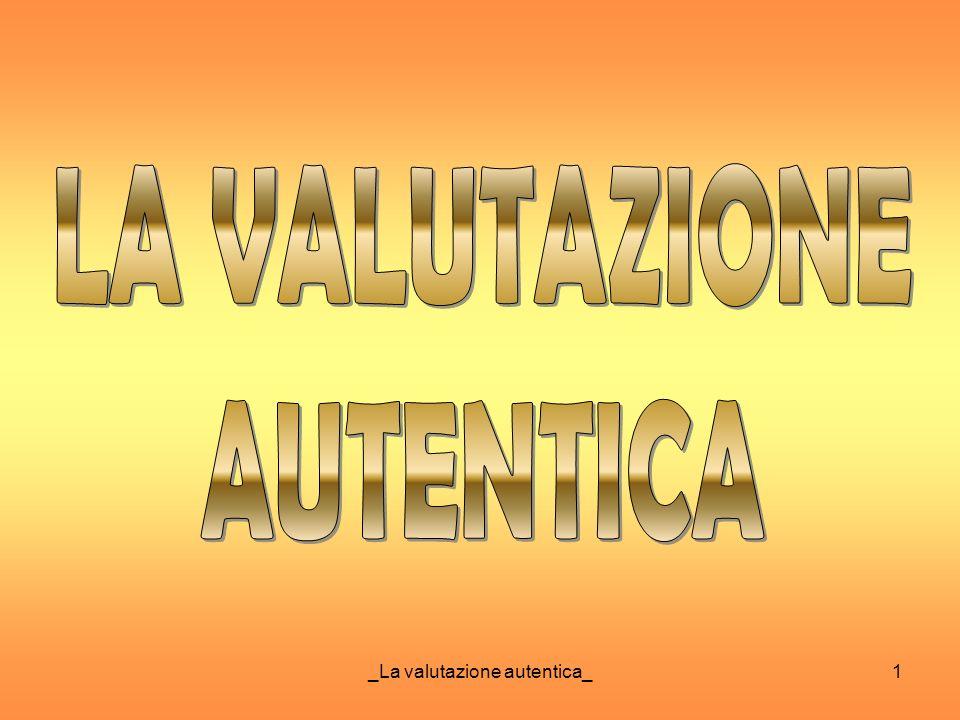 _La valutazione autentica_1