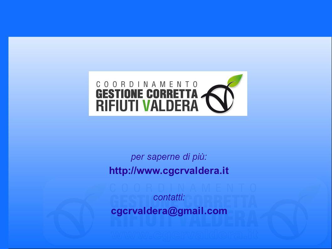 per saperne di più: http://www.cgcrvaldera.it contatti: cgcrvaldera@gmail.com
