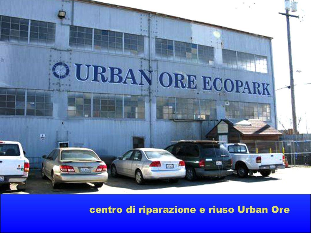 centro di riparazione e riuso Urban Ore