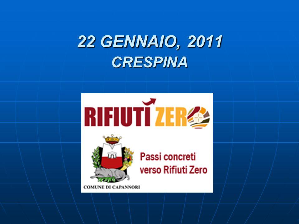 22 GENNAIO, 2011 CRESPINA