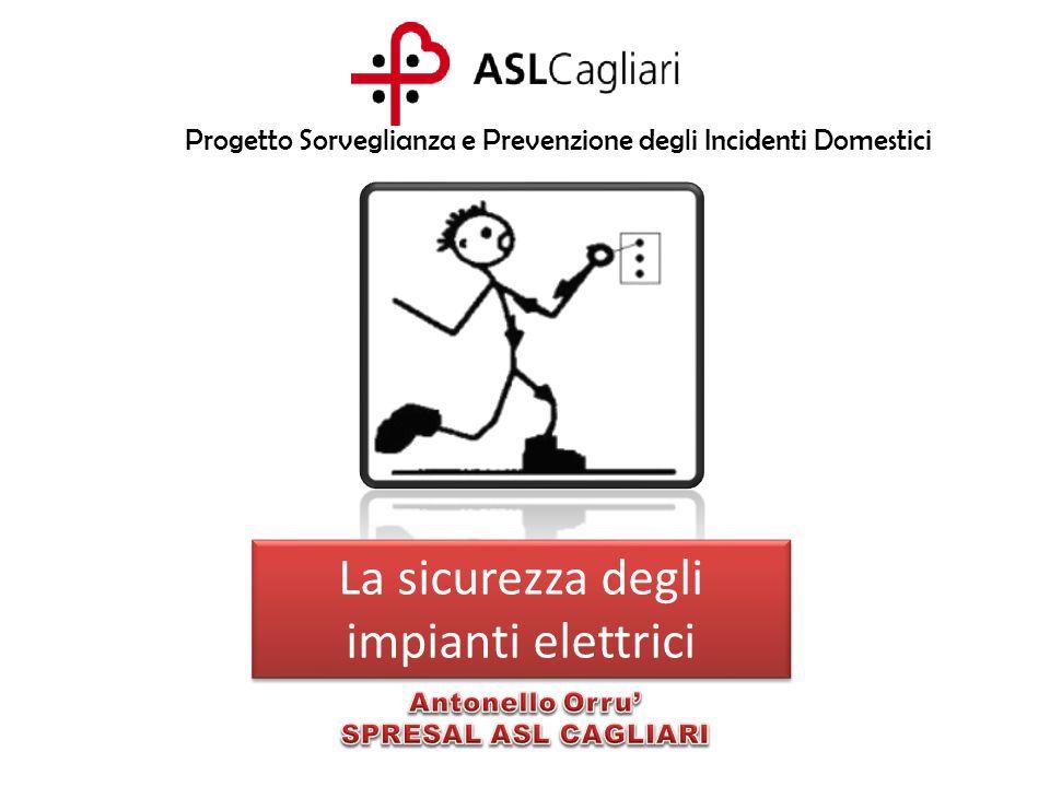 La sicurezza degli impianti elettrici Progetto Sorveglianza e Prevenzione degli Incidenti Domestici