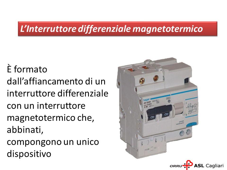 È formato dallaffiancamento di un interruttore differenziale con un interruttore magnetotermico che, abbinati, compongono un unico dispositivo LInterr
