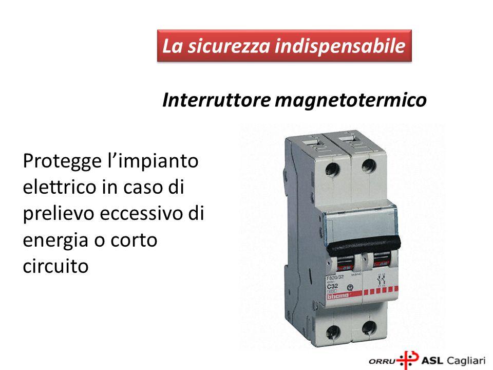 È formato dallaffiancamento di un interruttore differenziale con un interruttore magnetotermico che, abbinati, compongono un unico dispositivo LInterruttore differenziale magnetotermico