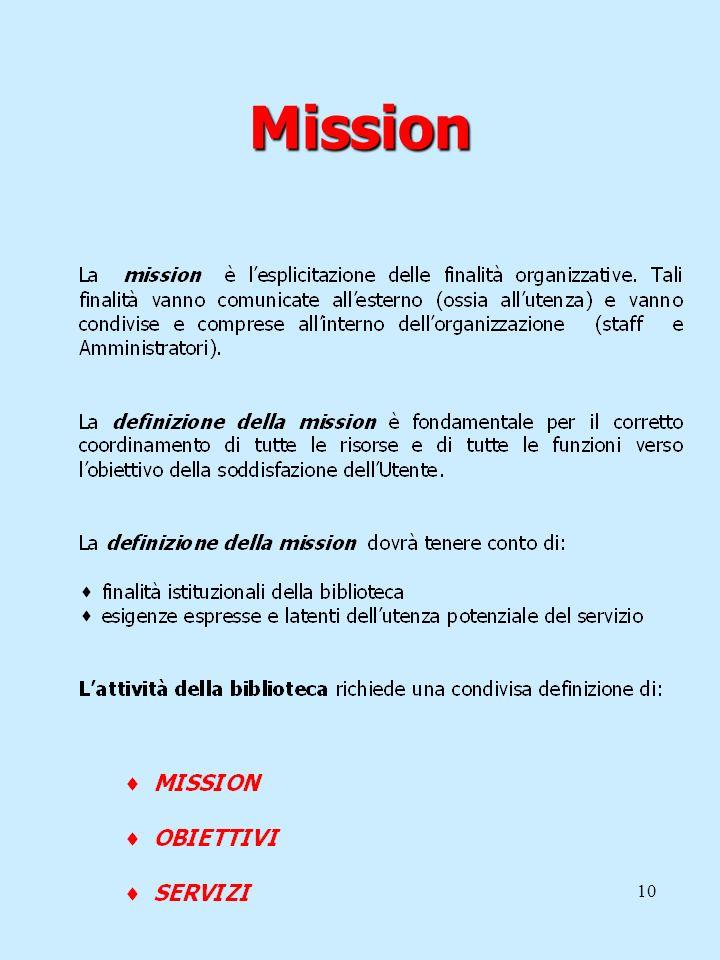 10 Mission