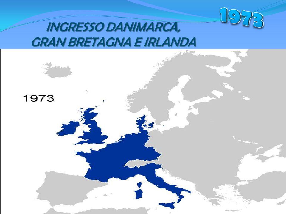 INGRESSO DANIMARCA, GRAN BRETAGNA E IRLANDA