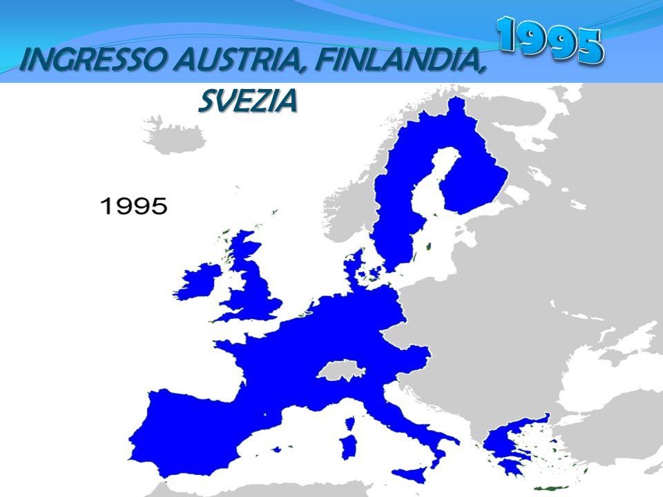 INGRESSO AUSTRIA, FINLANDIA, SVEZIA