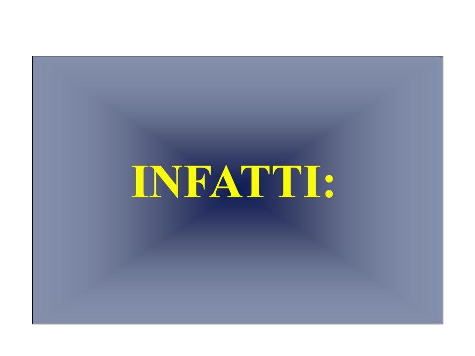 INFATTI: