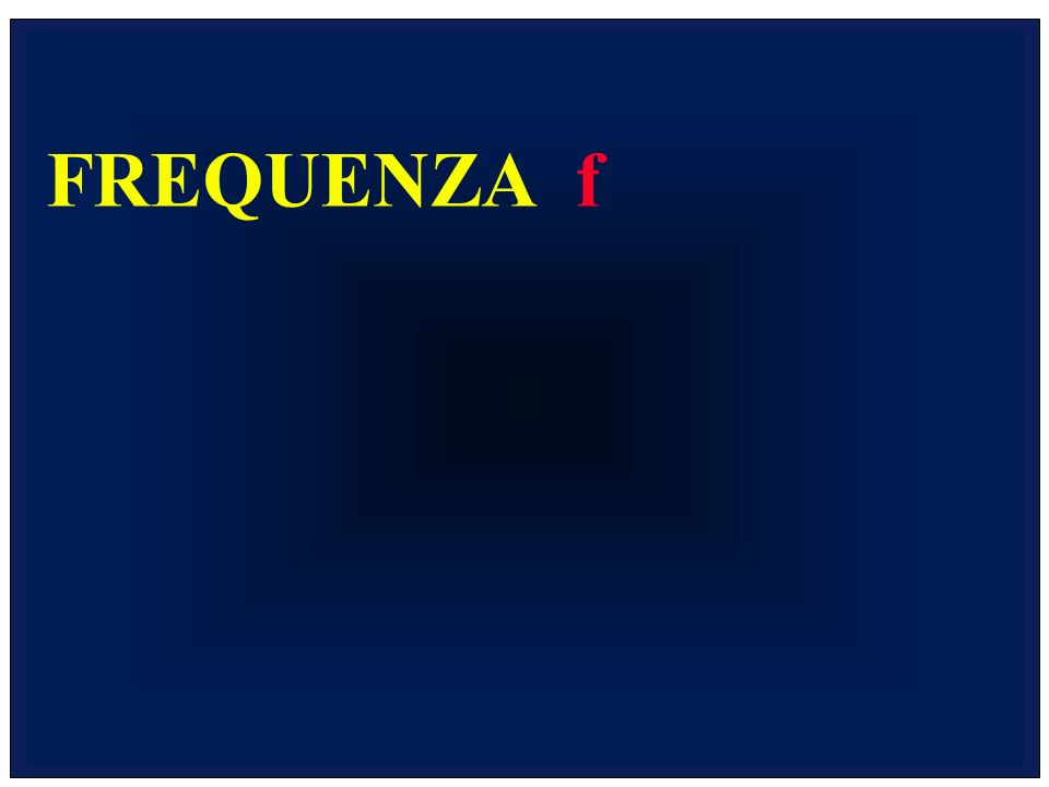 FREQUENZA f
