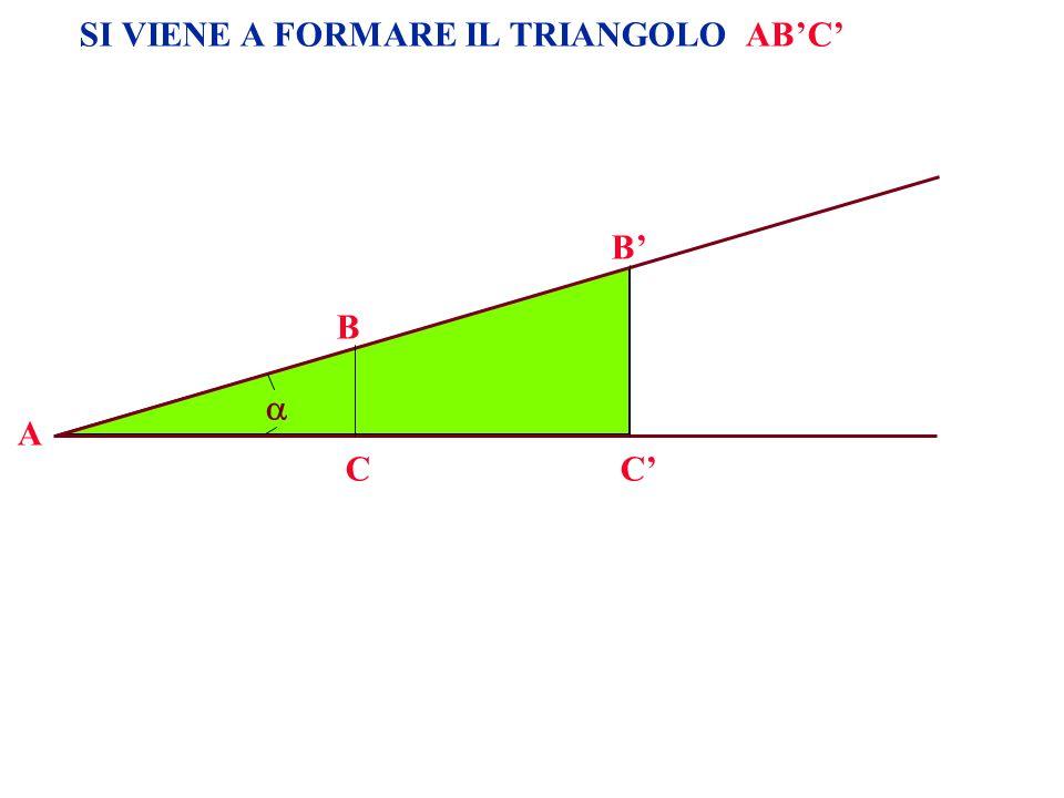 SI VIENE A FORMARE IL TRIANGOLO ABC A B CC B