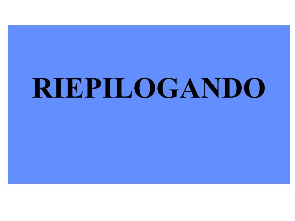 RIEPILOGANDO