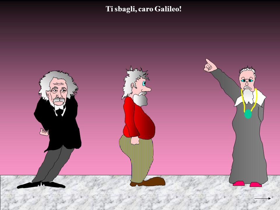 Ti sbagli, caro Galileo!