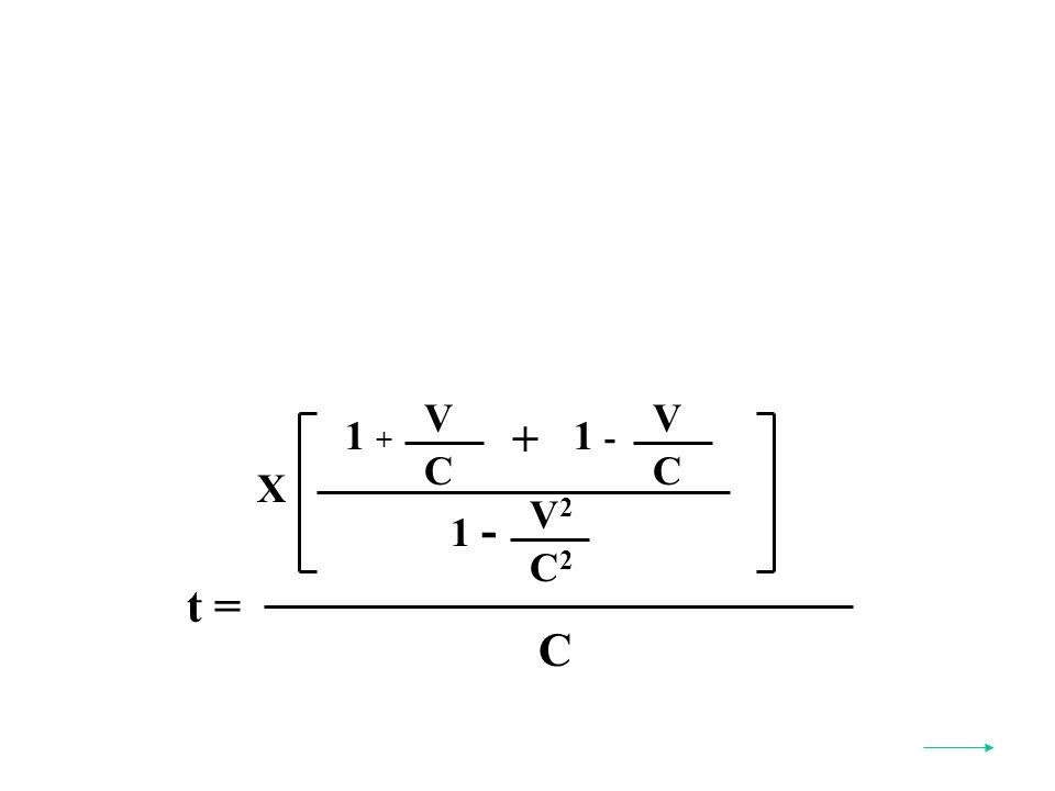 t = C X V2V2 C2C2 1 - V C 1 + + V C 1 -