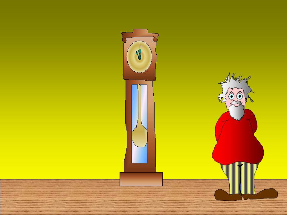 No, non è con questo orologio che misureremo il tempo!...