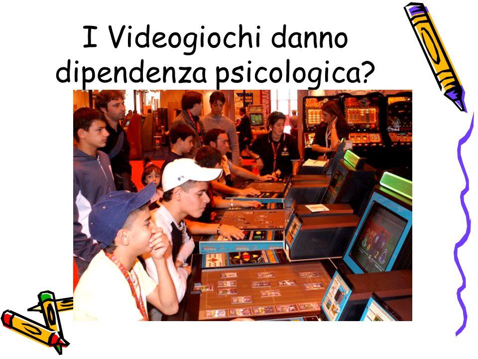 Occorre differenziare: I videogiochi che si basano sulla vincita (ad es videopoker o Awp) possono determinare una dipendenza del tutto simile a quella del gioco dazzardo (gambling)