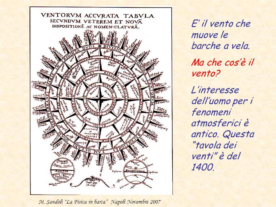 . Esperienza di Torricelli (1640) Barometro di Fortin (1800) La pressione atmosferica cambia con la quota