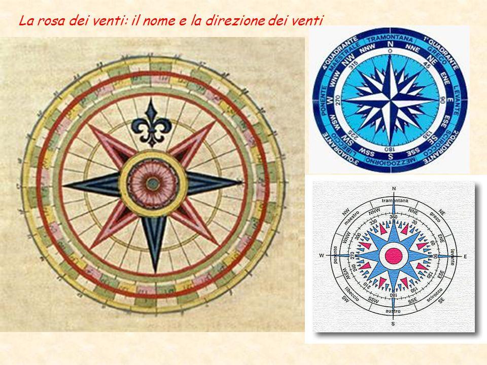 © Istituto e Museo di Storia della Scienza La rosa dei venti: il nome e la direzione dei venti