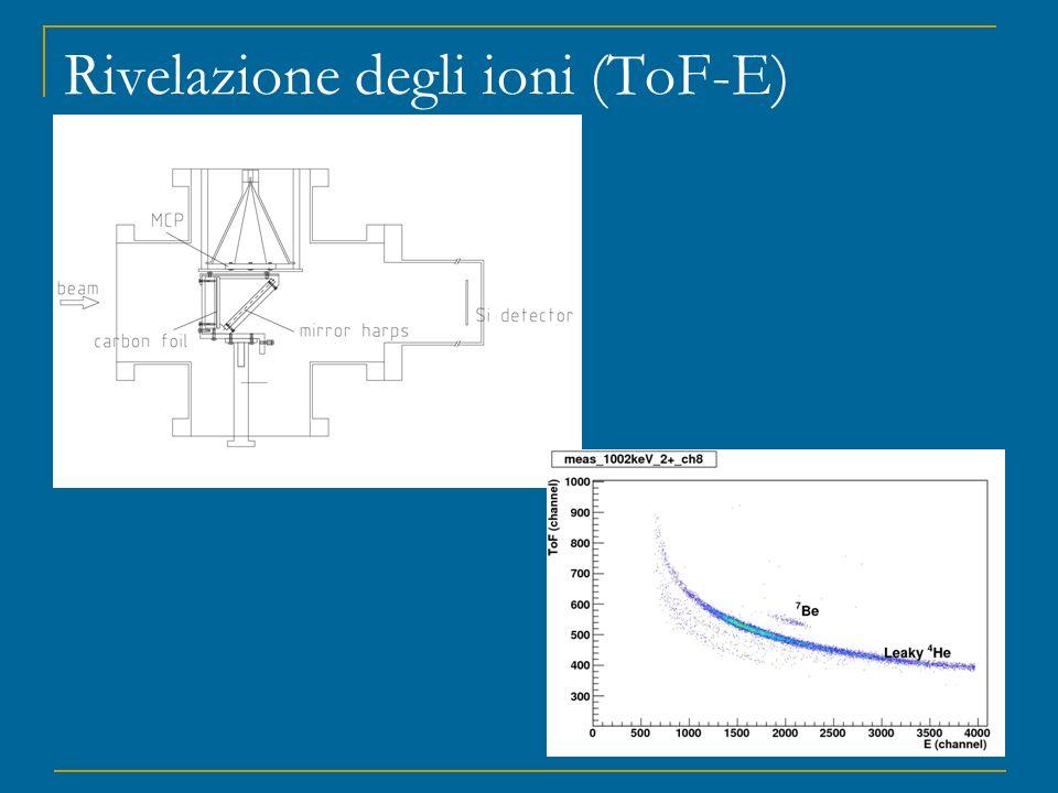 Rivelazione degli ioni (ToF-E)