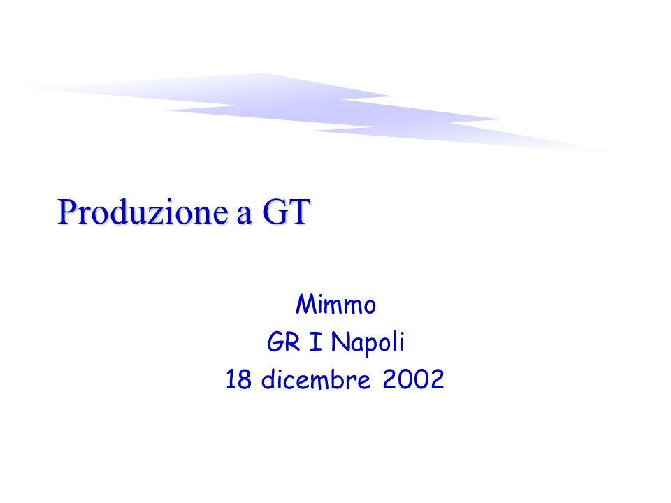 Produzione a GT Mimmo GR I Napoli 18 dicembre 2002