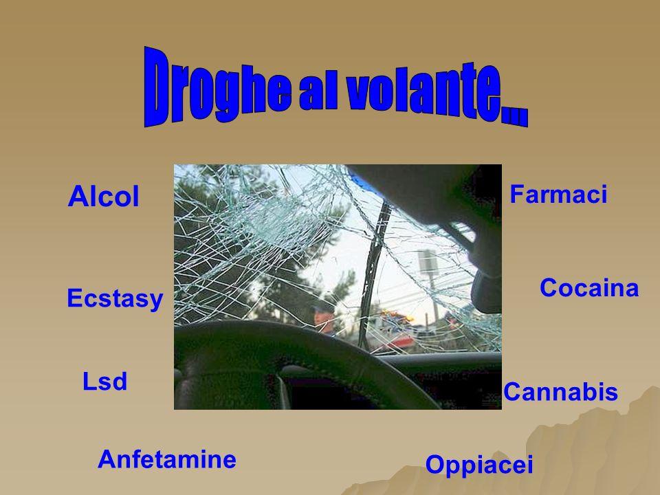 Alcol Farmaci Cannabis Cocaina Oppiacei Lsd Anfetamine Ecstasy