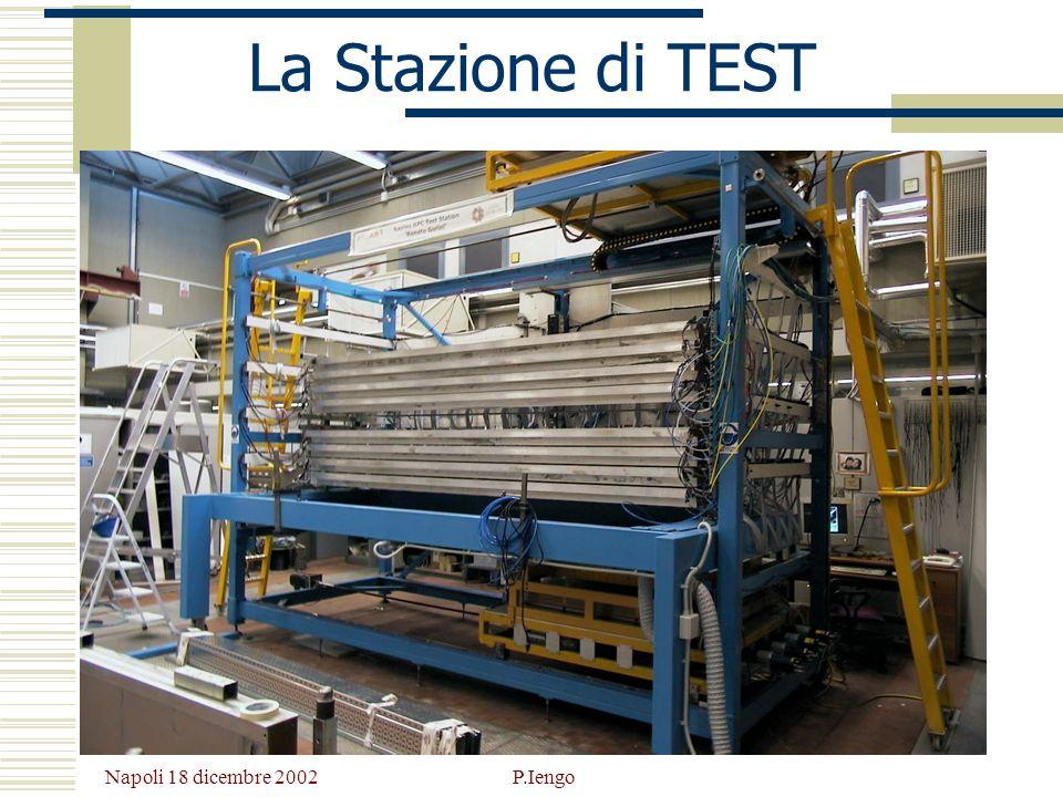 Napoli 18 dicembre 2002 P.Iengo La Stazione di TEST