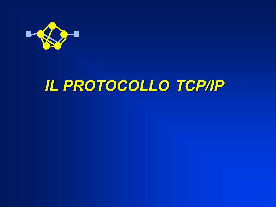IL PROTOCOLLO TCP/IP IL PROTOCOLLO TCP/IP