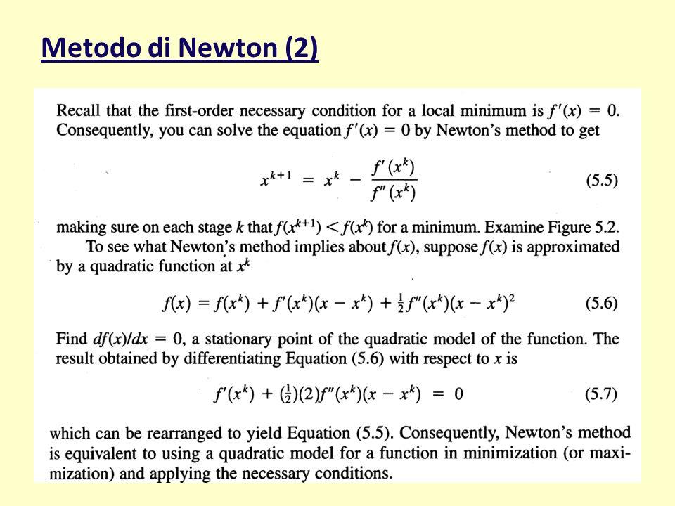 Metodo di Newton (2) maggio '11MOSPE32
