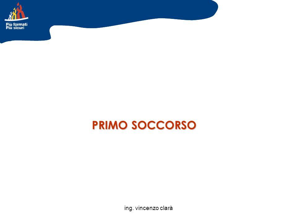 ing. vincenzo clarà PRIMO SOCCORSO
