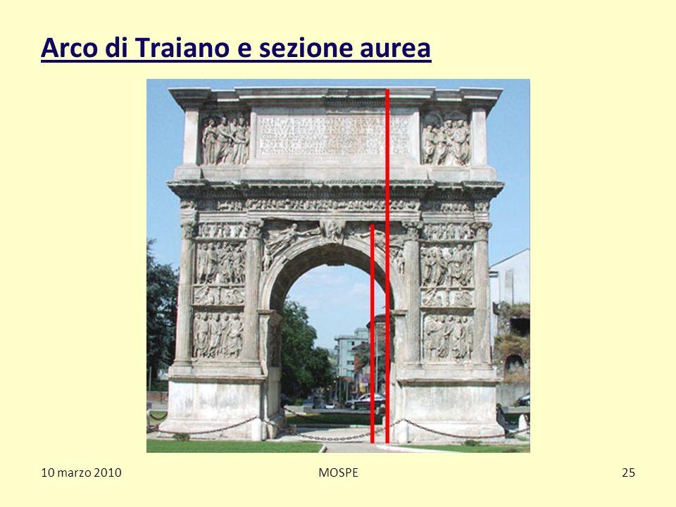 Arco di Traiano e sezione aurea 10 marzo 2010MOSPE25