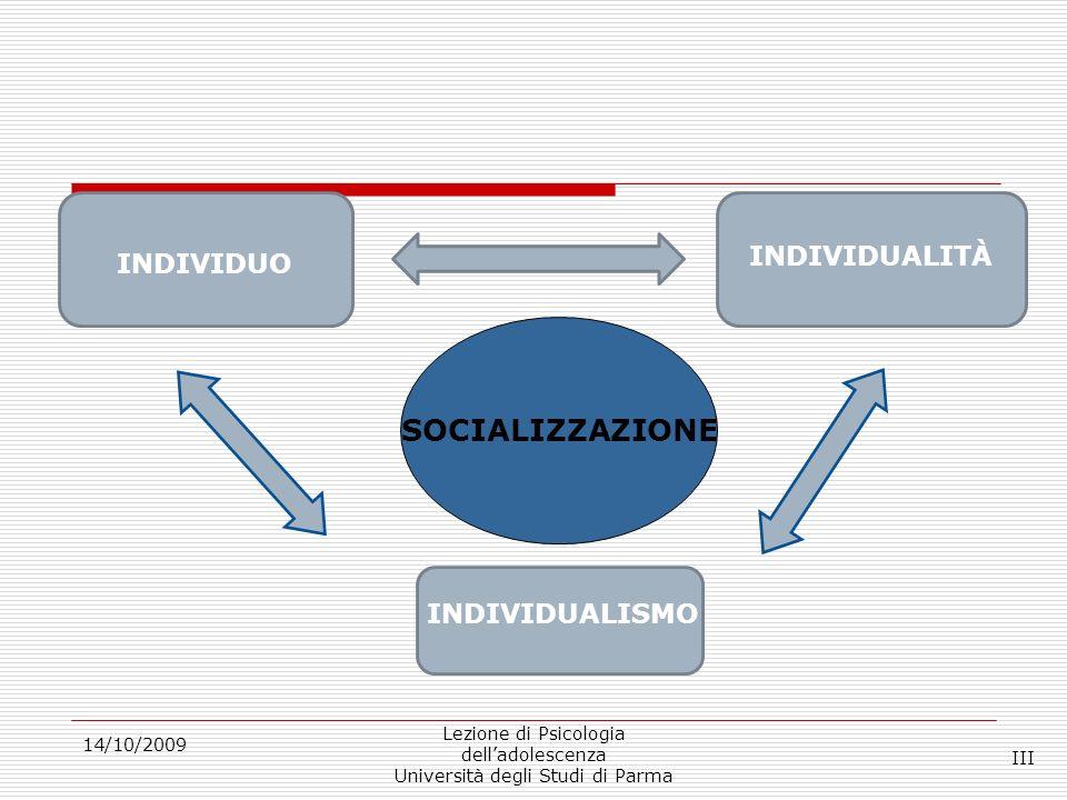 Autonomia (1) 14/10/2009 Lezione di Psicologia delladolescenza Università degli Studi di Parma Tre domini: comportamentale, cognitiva ed emotiva (Collins, Gleason e Sesma, 1997; Zimmer-Gembeck e Collins, 2003).