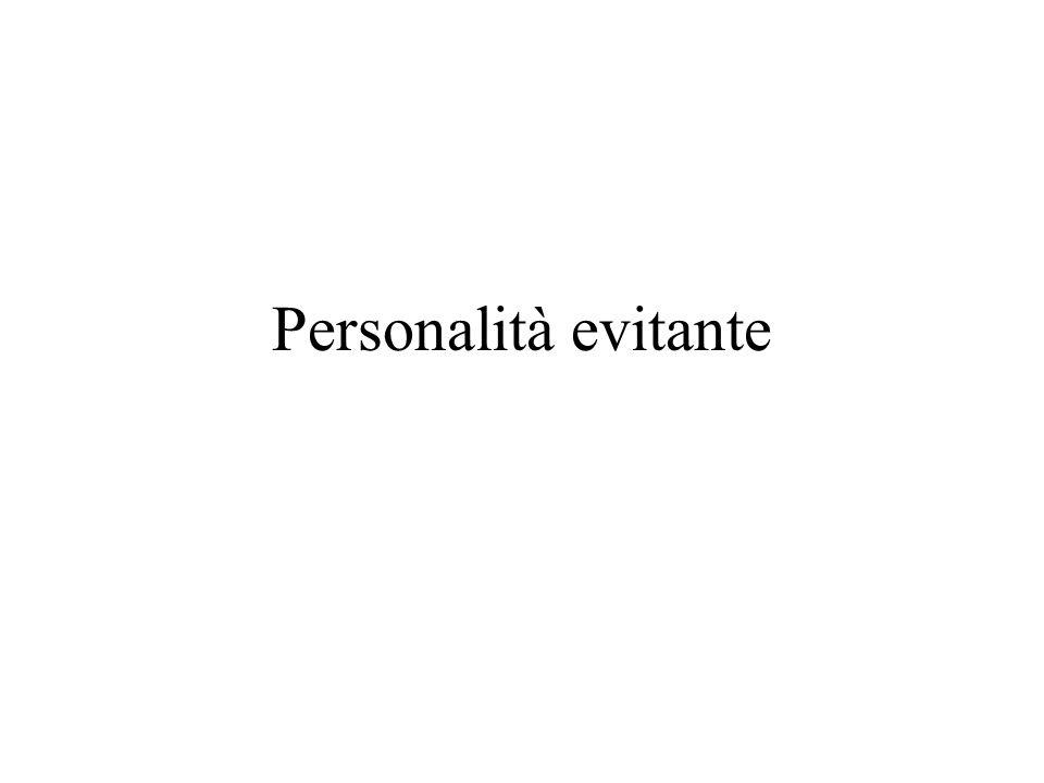 Personalità evitante