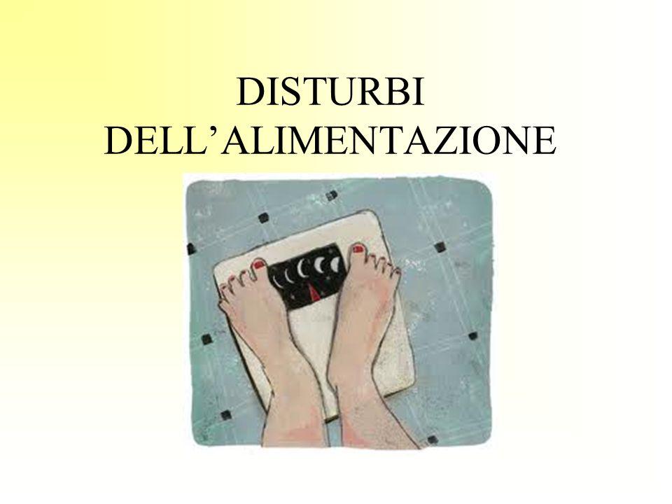 DISTURBI DELLALIMENTAZIONE