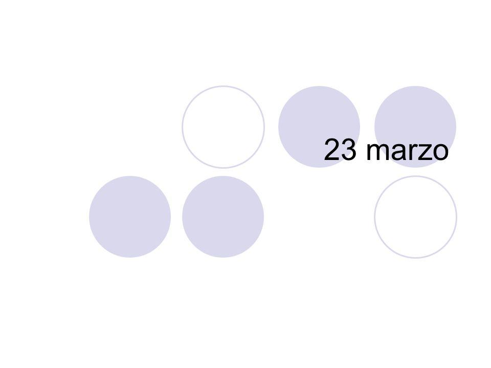 23 marzo