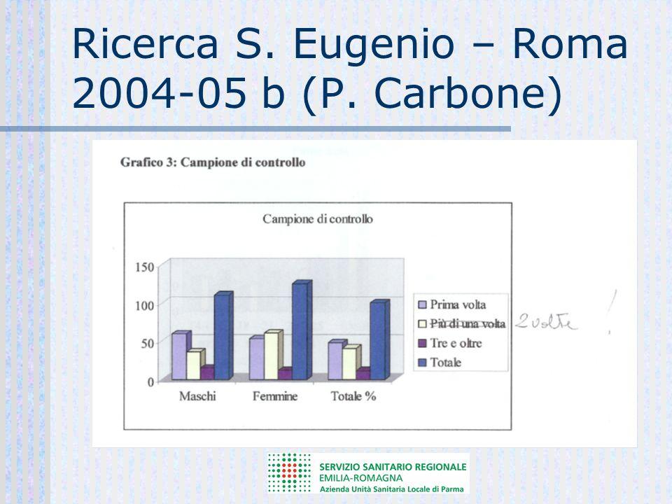 Ricerca Cervellin-Comelli 2006