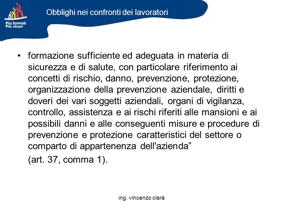 ing. vincenzo clarà IL SISTEMA PUBBLICO DI PREVENZIONE