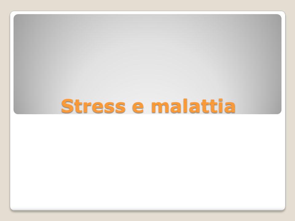 Processi psicologici rilevanti per la salute: la componente cognitiva 1) Stress (strategie di coping) 2) Controllo 3) Percezione del rischio