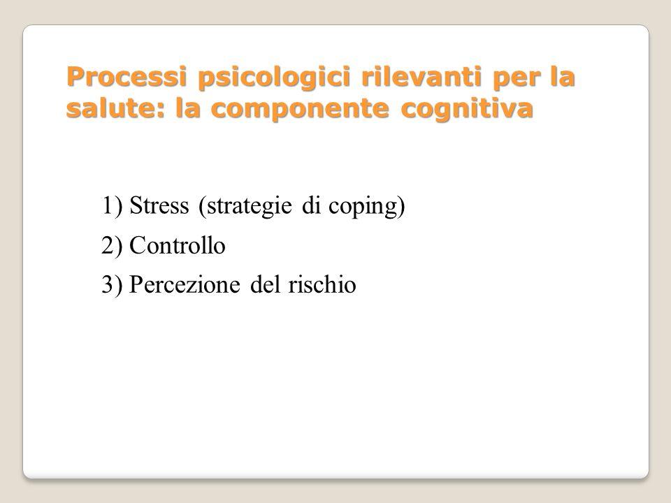 STRESS Concetto chiave della P.S.: STRESS.