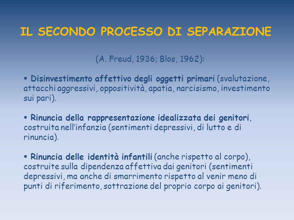 IL SECONDO PROCESSO DI SEPARAZIONE (A.