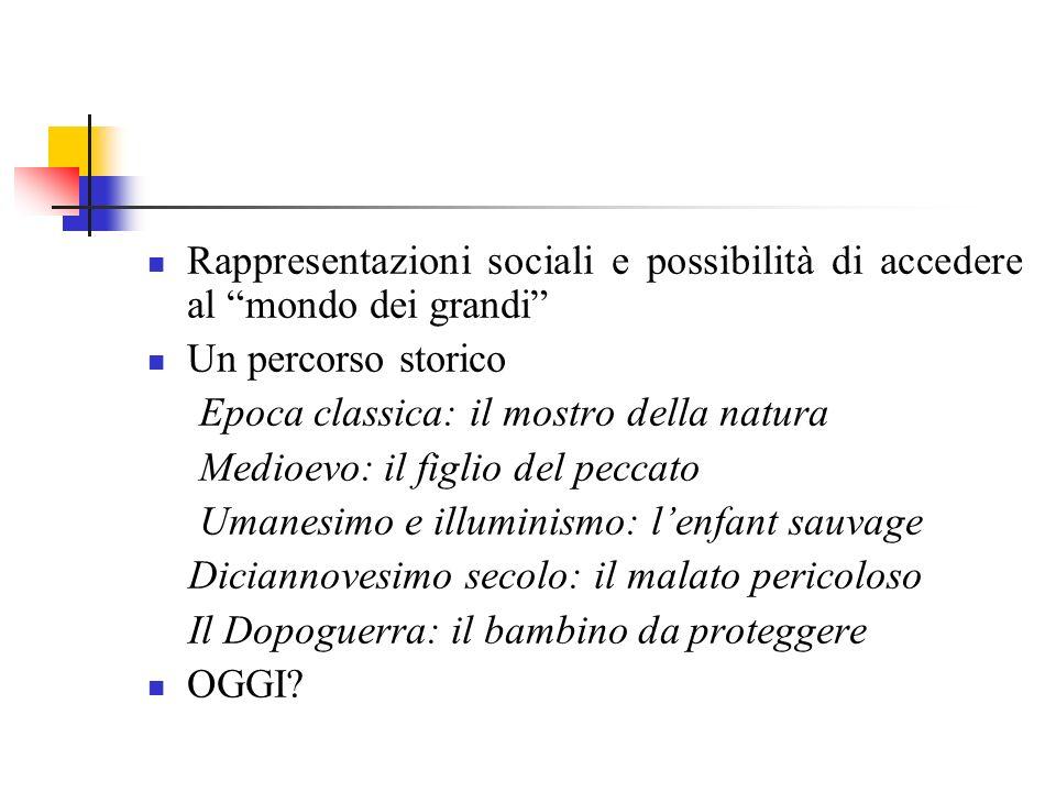 Senso comune e immagini della diversità La ricerca di Lalli: Il ruolo come elemento essenziale dellintegrazione sociale