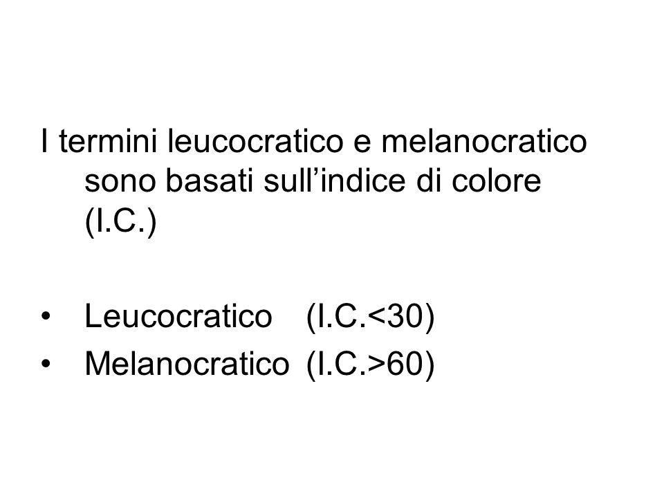 Criteri classificativi Classificazione giaciturale Classificazione mineralogica Classificazione chimica