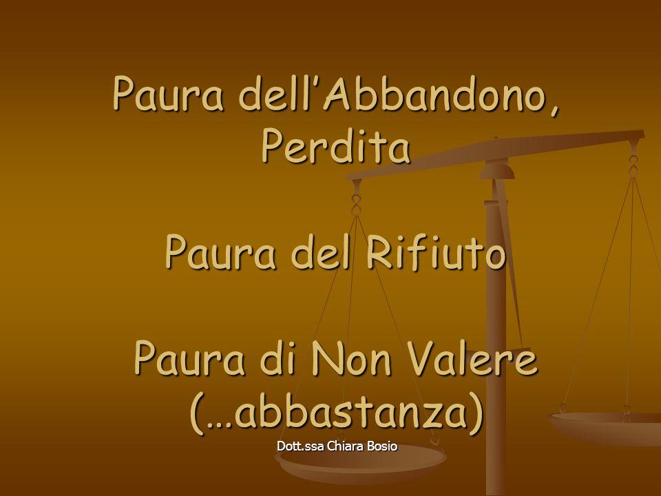 Dott.ssa Chiara Bosio Chi soffre di più.