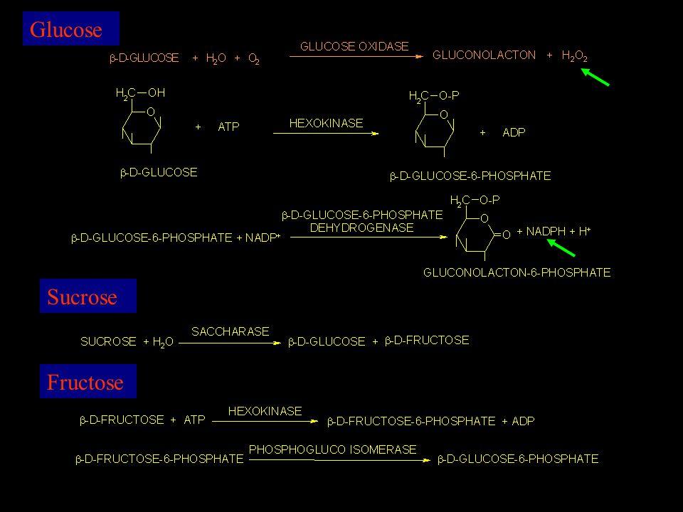 Glucose Fructose Sucrose