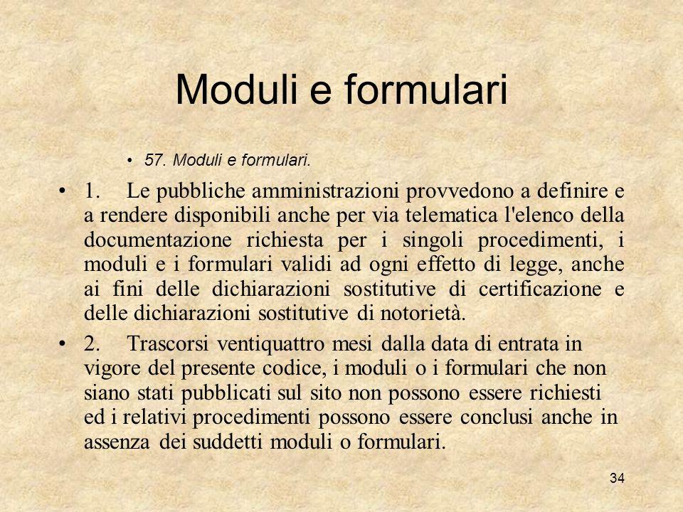 Il front office nel codice della P.A. digitale (selezione di norme; lettura commentata) Sezione II - Diritti dei cittadini e delle imprese 3. Diritto