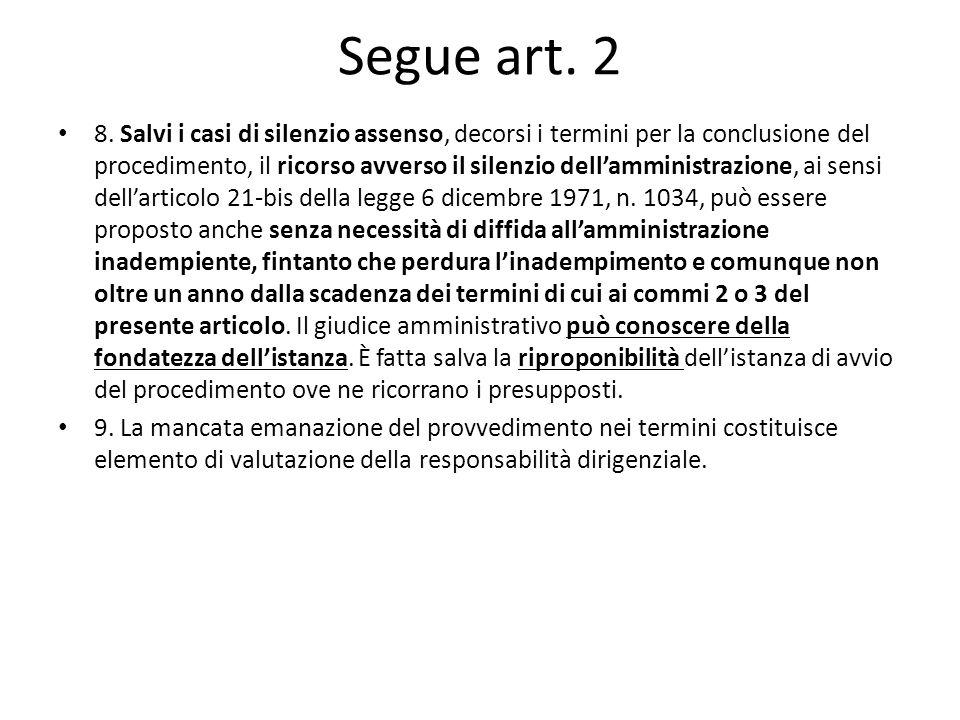 Segue art. 2 8.