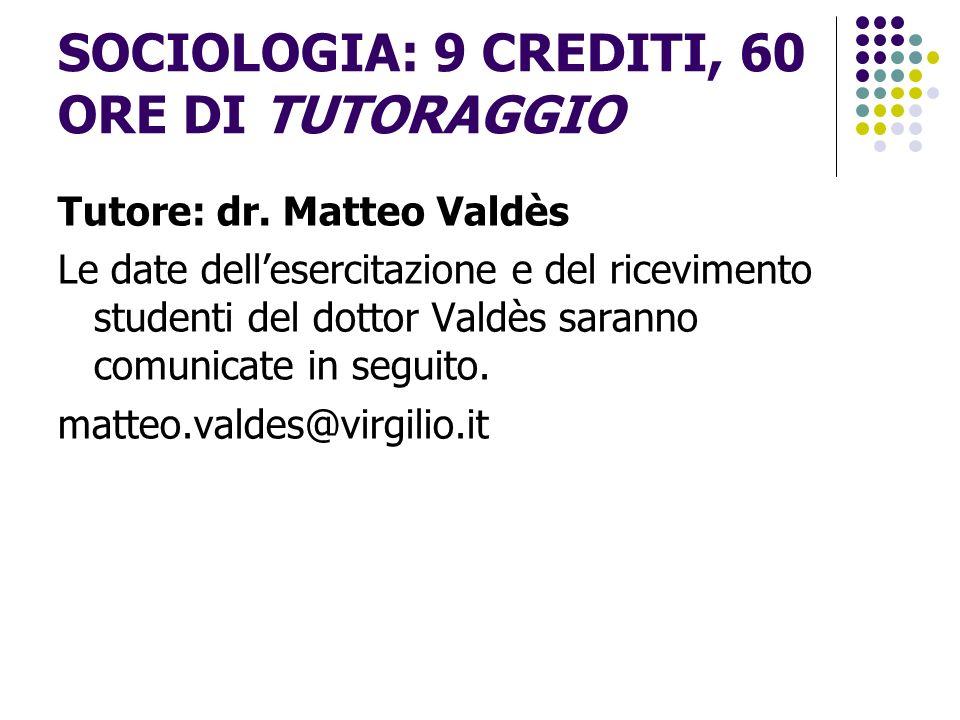 Sociologia una disciplina che studia la vita sociale degli individui, dei gruppi e delle intere società.
