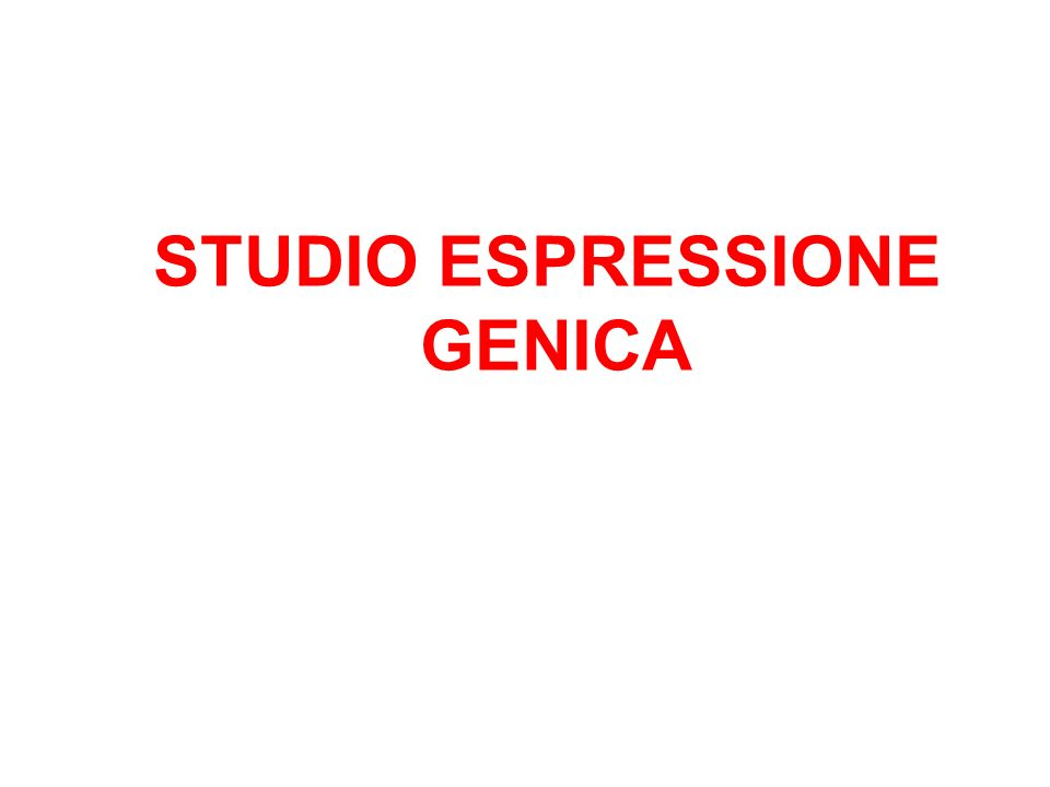 STUDIO ESPRESSIONE GENICA