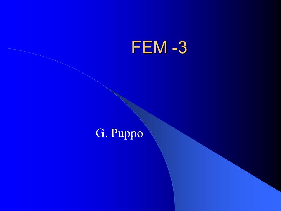 Riassunto Autovalori e aliasing Problema di convezione-diffusione agli elementi finiti Problema di convezione-diffusione alle differenze finite Stabilizzazione