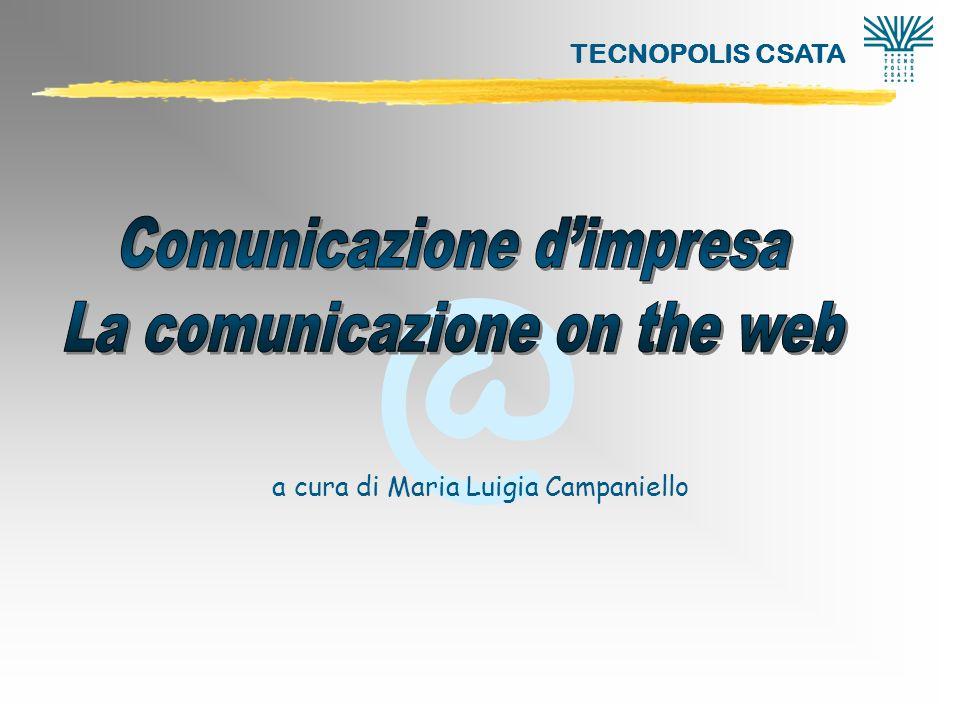 @ TECNOPOLIS CSATA La comunicazione on the web22 SERVIZIO .