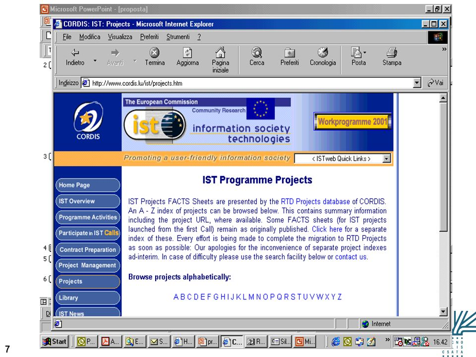38 Esempio eLearning – CALL FOR PROPOSAL (13) 9.