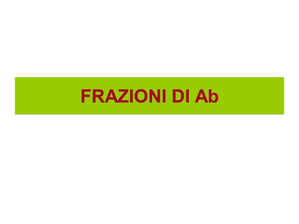 FRAZIONI DI Ab
